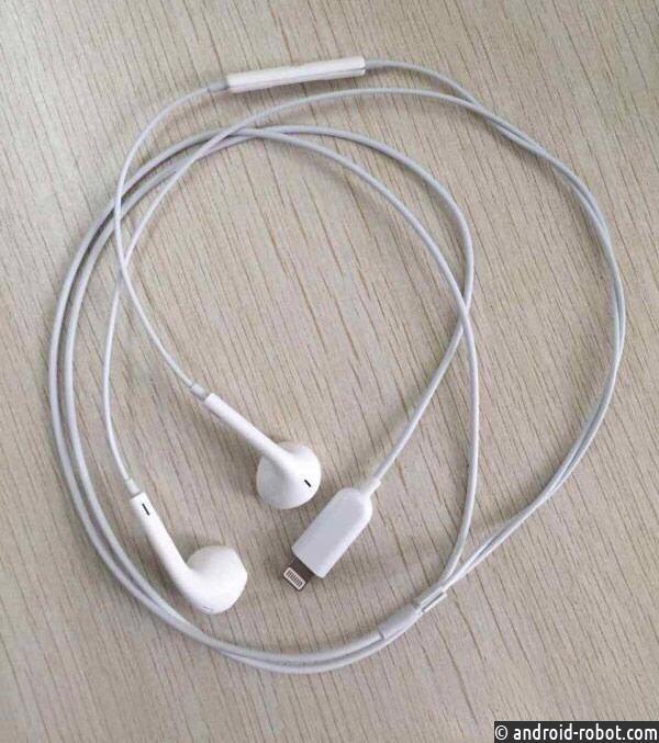 Lightning-наушники Apple для iPhone 7