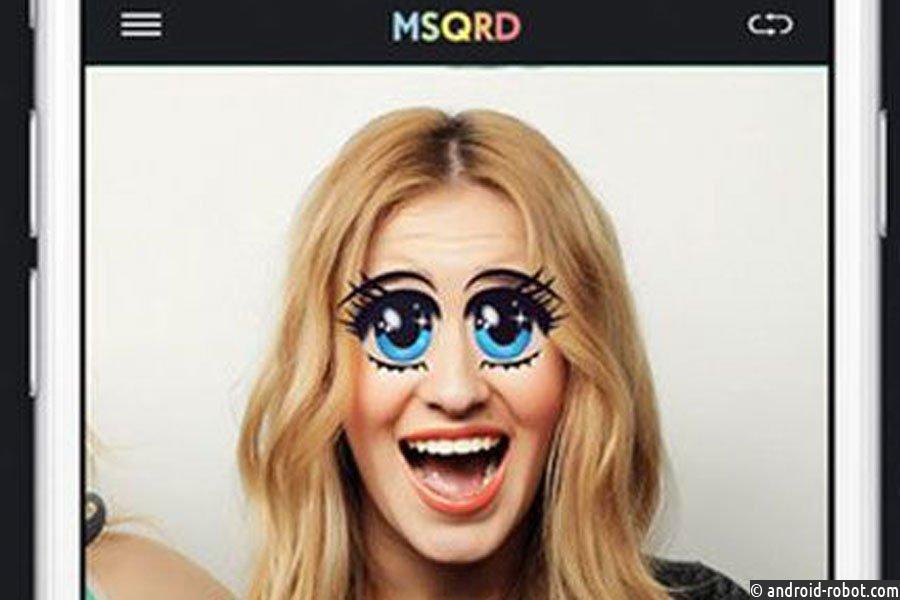В фейсбук Live появятся маски изMSQRD