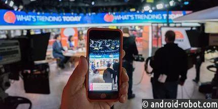 YouTube вводит возможность запуска прямых трансляций смобильного приложения