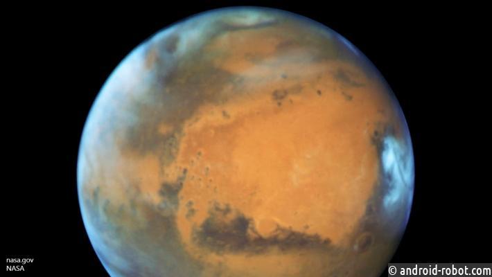 Кислород наМарсе существовал ибез живых организмов