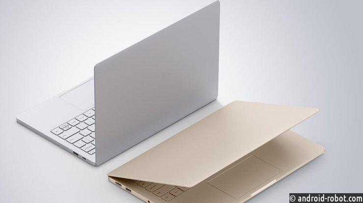 Xiaomi представила линейку ноутбуков MiNotebook Air