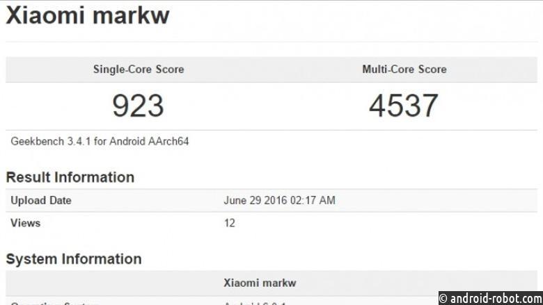 Xiaomi Markw