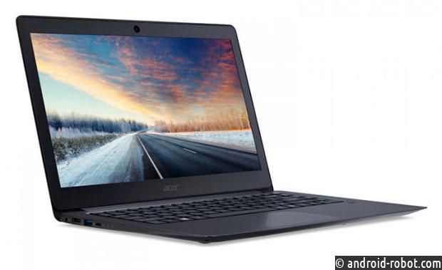 Acer представила ноутбук TravelMate X3 для деловых людей
