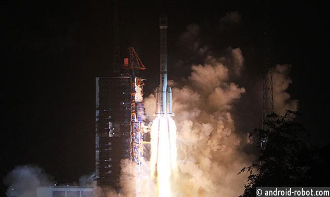 КНР удачно вывел наорбиту свой 1-ый спутник мобильной связи 3-го поколения