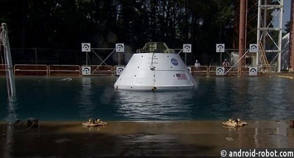 NASA испытывает космический корабль «Orion», который готовят квизиту наМарс