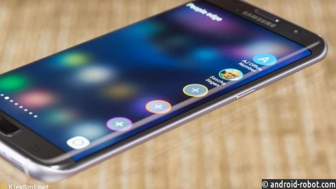 Samsung откажется от телефонов сплоскими экранами