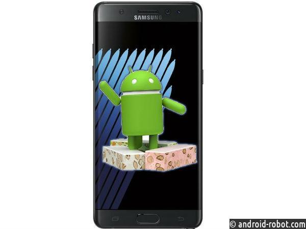 Android 7 на смартфоне Samsung Galaxy Note 7 появится осенью