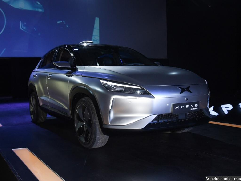 Xiaopeng Motors представили концепт-кар будущего электрокара Xpeng Beta