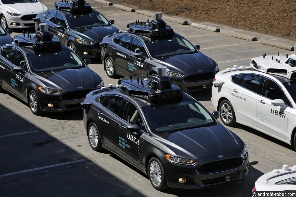 Uber тестирует технологию беспилотных автомобилей в США