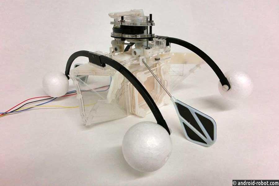 Ученые создали робота сортом ижелудком