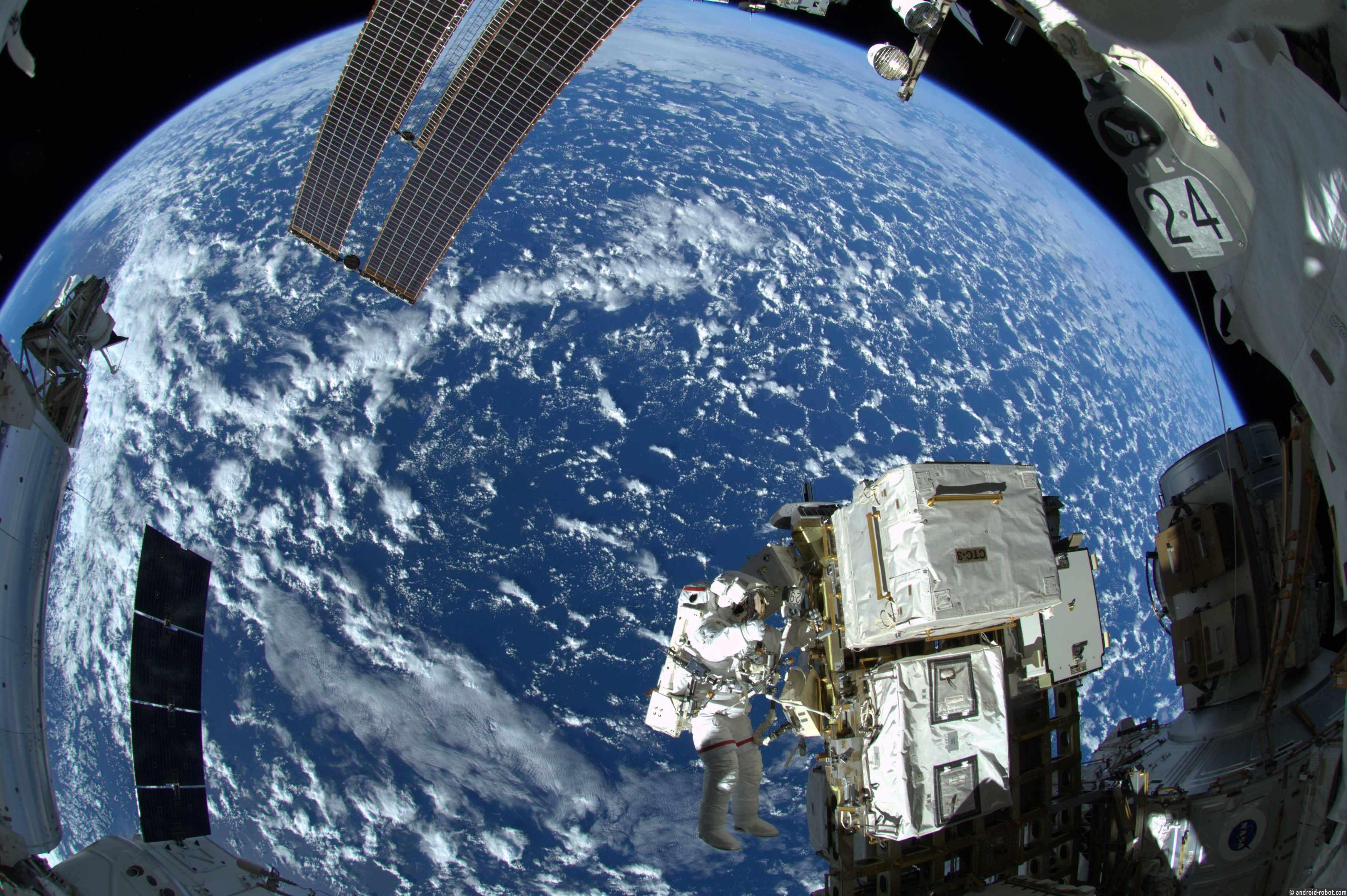 Фото земли с орбиты российского космонавта