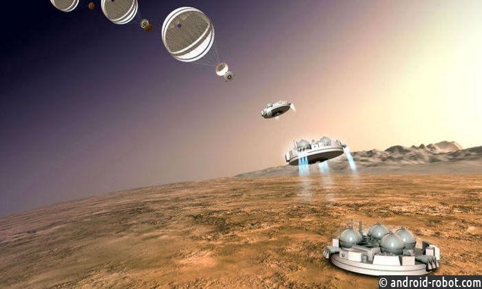 Место падения Schiaparelli обнаружили наМарсе