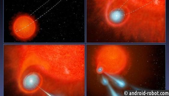 Астрономы увидели таинственную планету, извергающую плазменные сгустки