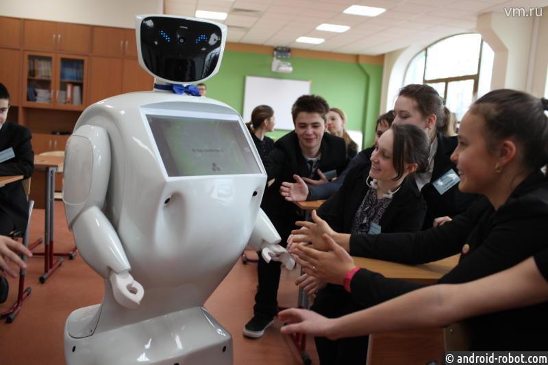 Первый в Российской Федерации ученический робот-учитель проведёт самостоятельный урок