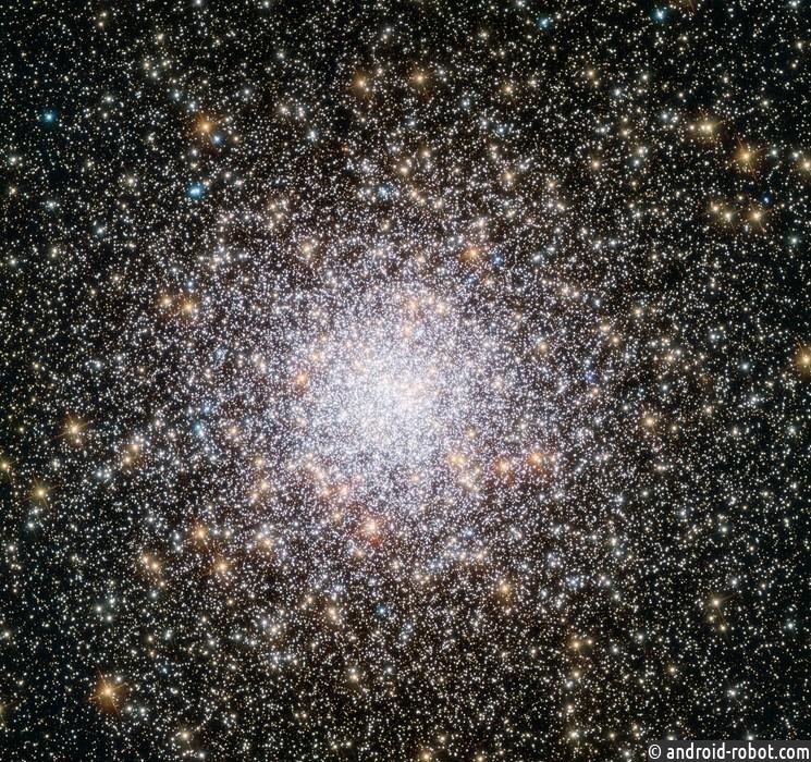 «Хаббл» сделал снимок аномально молодых звезд наокраинах Млечного Пути