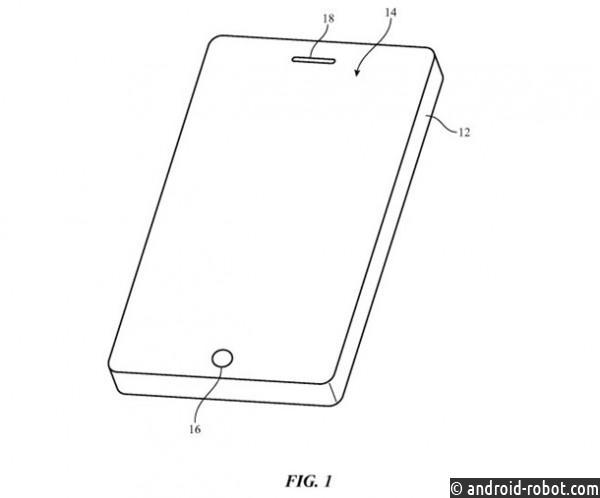 Apple получила патент нагибкий iPhone