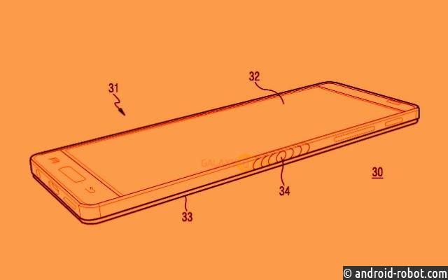 Samsung запатентовала гибкий смартфон
