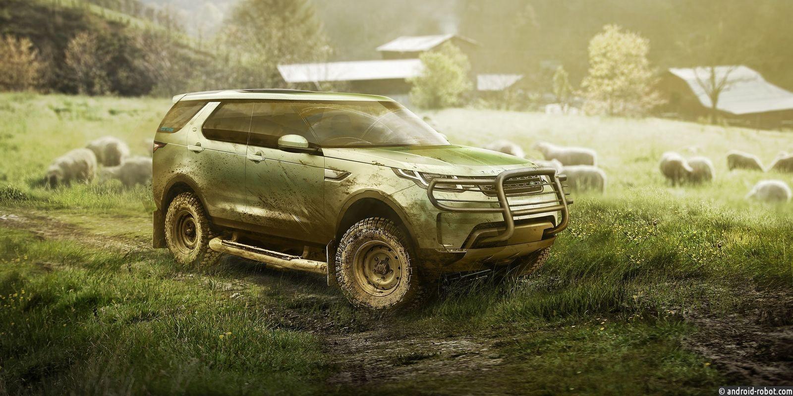 Land Rover создал походную спальню для Санта-Клауса