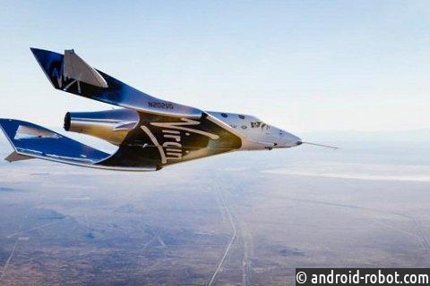 Virgin Galactic благополучно проверила новый пилотируемый космоплан