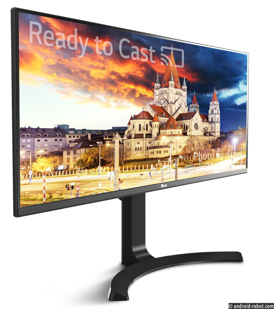 LG представит новейшие мониторы формата 4K
