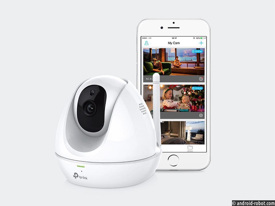 Компания TP-Link представила облачную Wi-Fi камеру NC450