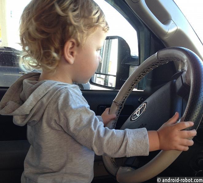 Нынешние дети уже небудут водить автомобили
