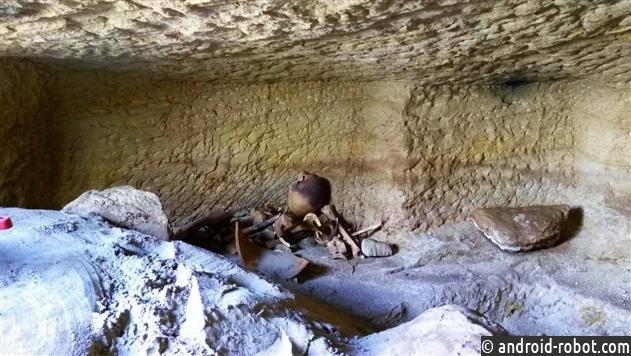 Гробницы сдетьми найдены вЕгипте