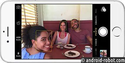 ВiPhone 8 установят сканер распознавания лиц RealFace