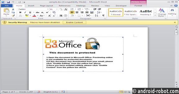 Вирусные документы Word атакуют компьютеры набазе Windows иmacOS