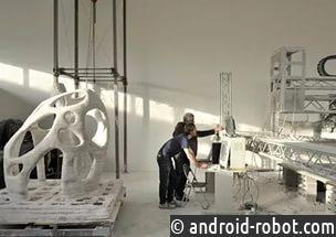 3D-принтер для печати конструкций на Луне