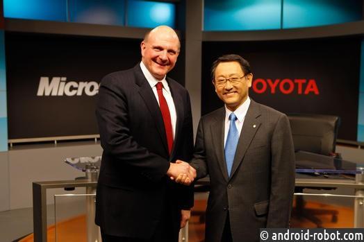 Microsoft объявила опрограмме лицензированияIP для беспилотных авто Toyota