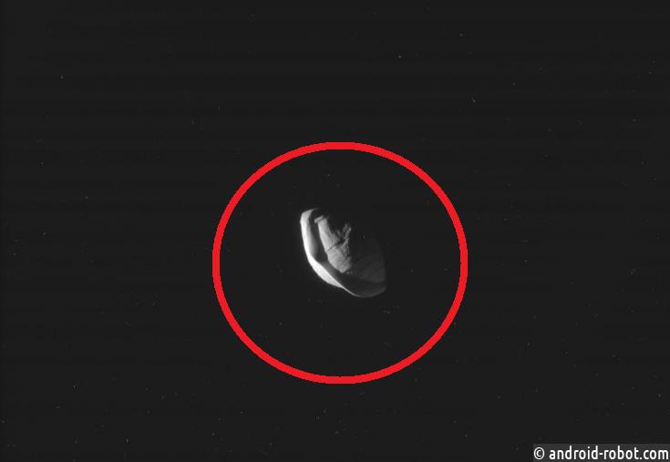 Cпутник Сатурна Пан оказался похож налетающую тарелку