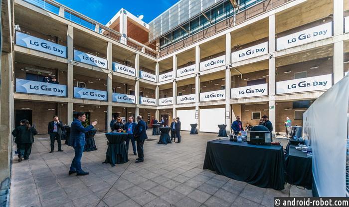 Смартфон G6 откомпанииLG был представлен наMobile World Congress