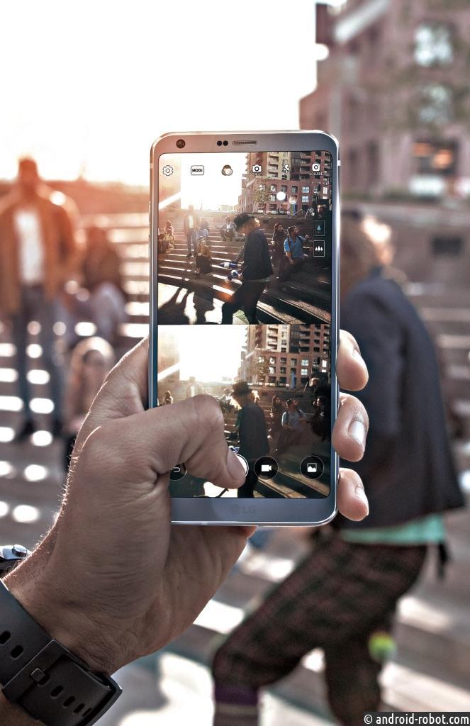 LG начинает продажи смартфона G6