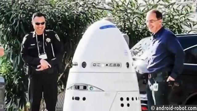 утопился робот-охранник