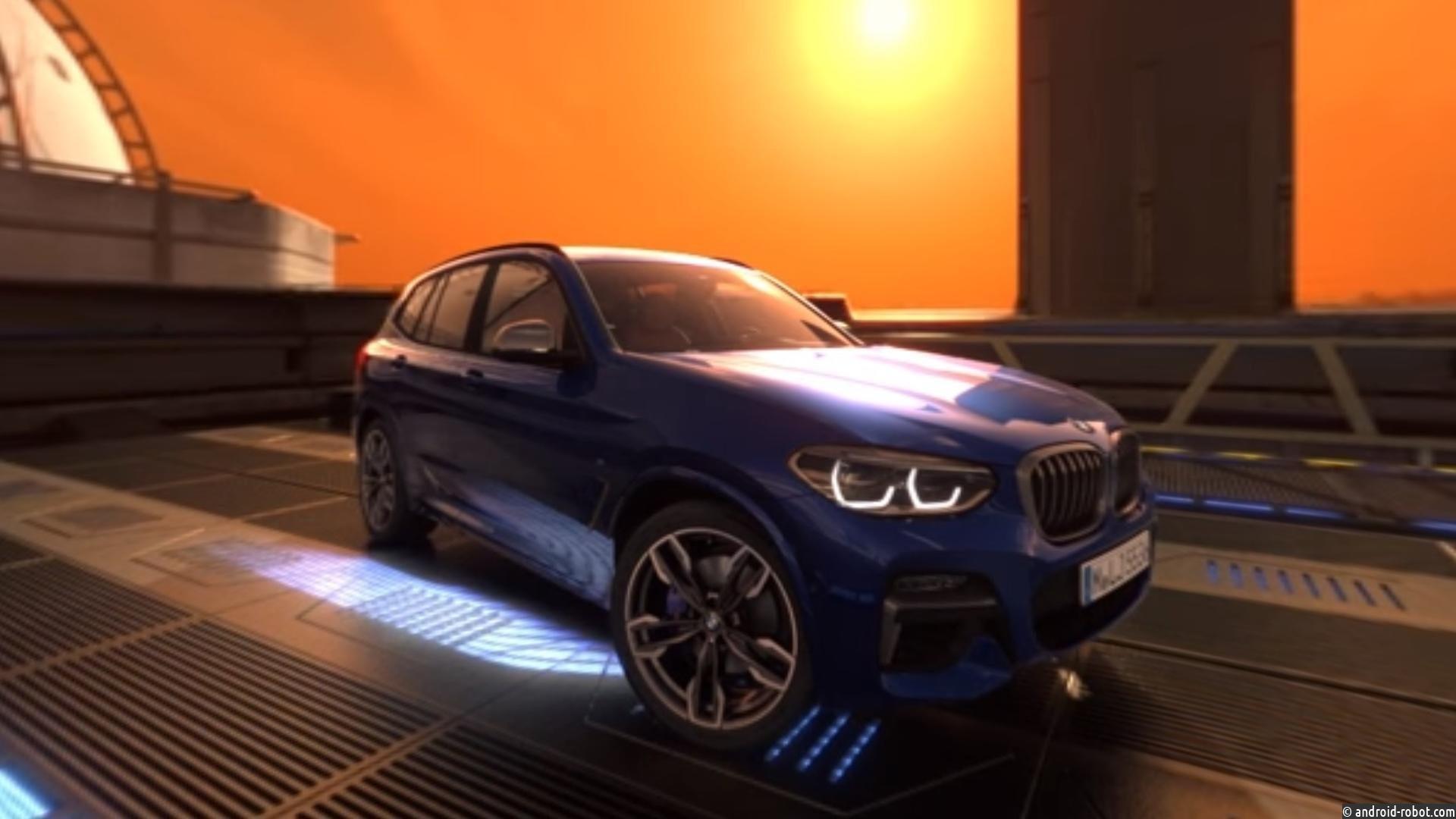 BMW X3 отправили ввиртуальный тур поМарсу