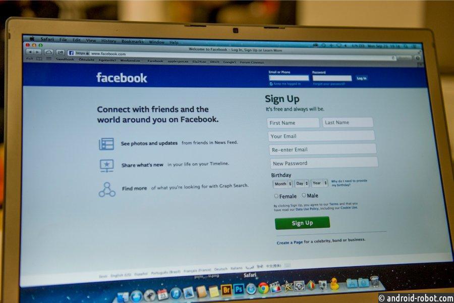 Испания оштрафовала Facebook на1,2млневро занарушение конфиденциальности