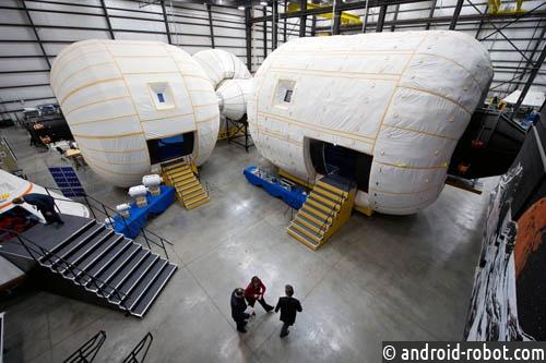 Наорбиту Луны запустят надувной жилой модуль