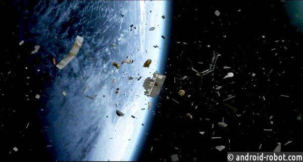 Лидерами поколичеству космического мусора являются США, РФ и КНР