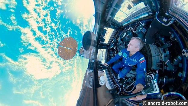 Первое вистории панорамное видео изоткрытого космоса размещено