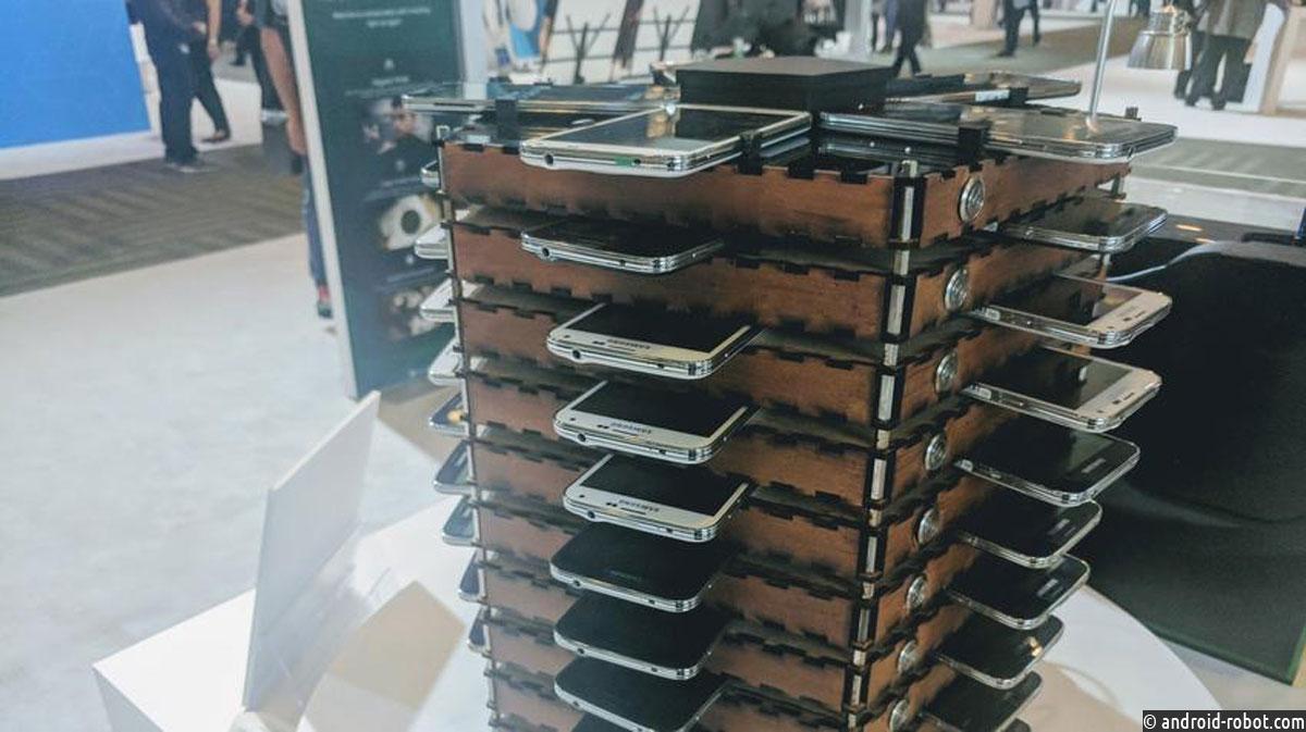 Samsung представила ферму для майнинга из собственных старых телефонов