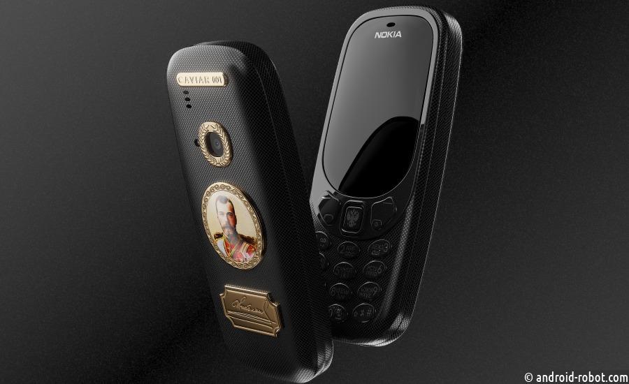 Caviar представил новую коллекцию титановых телефонов на основе Nokia 3310
