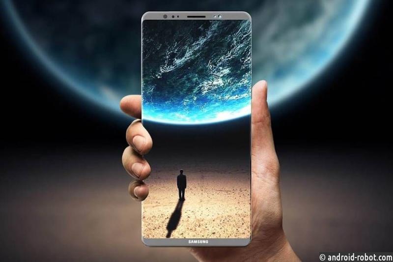 Samsung Galaxe Note 8 Star Wars