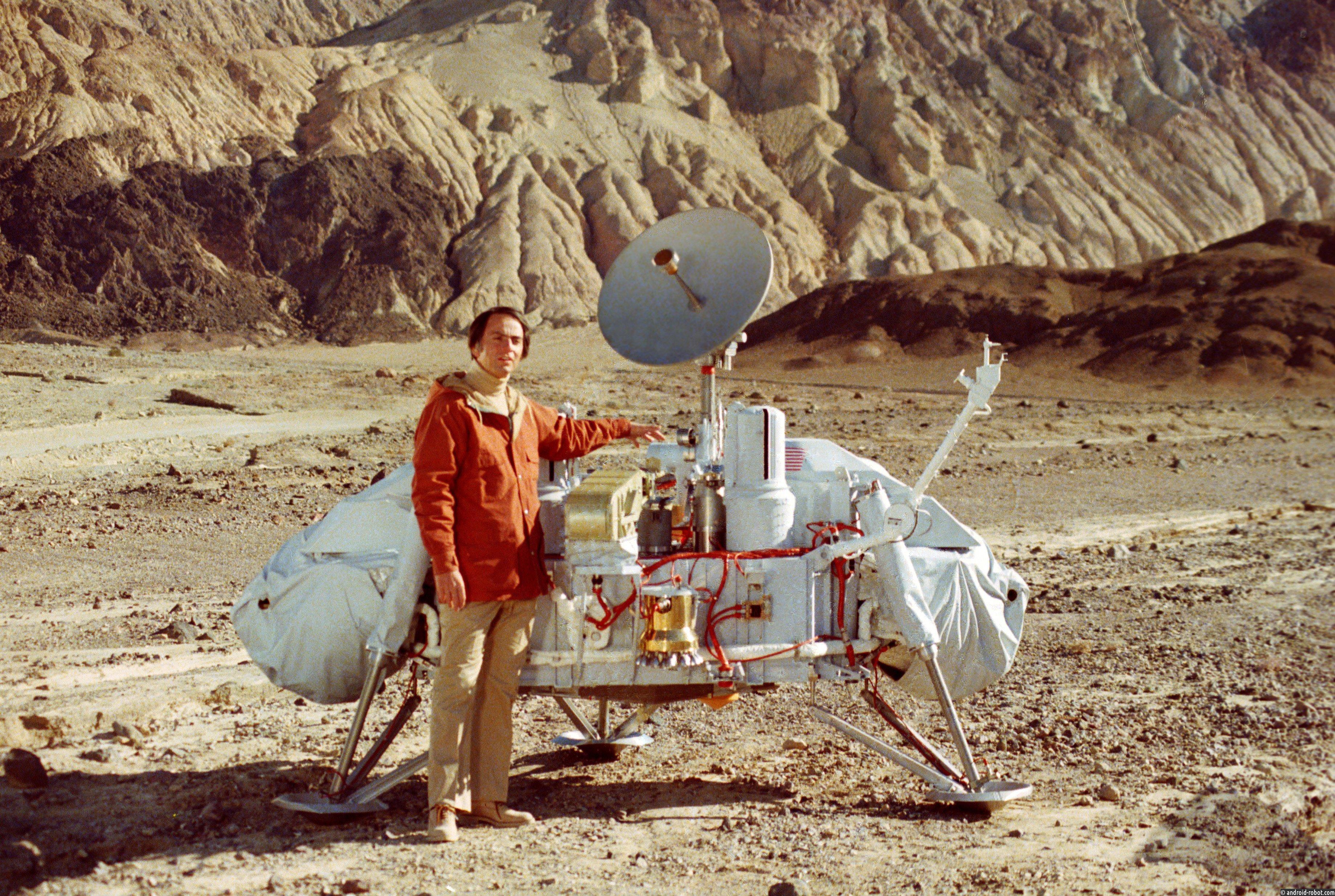 Сенсация NASA: человек был наМарсе в 1979г