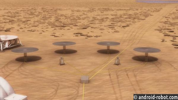 NASA разрабатывает ядерный реактор для миссии наМарс