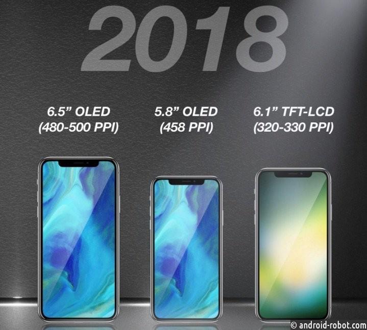 В предстоящем году Apple выпустит три новых телефона