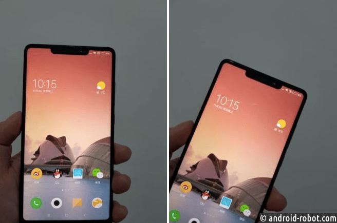 Xiaomi MiMix 2s получит экран встиле iPhone X