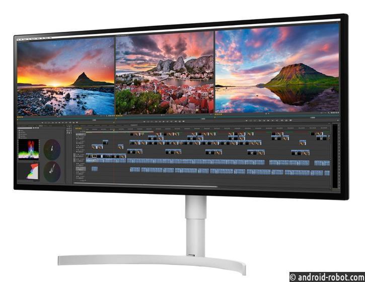 LGпредставила новые мониторы сэкранами Nano IPS иподдержкой разрешения 5К