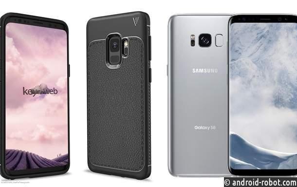Появились новые изображения Самсунг Galaxy S9