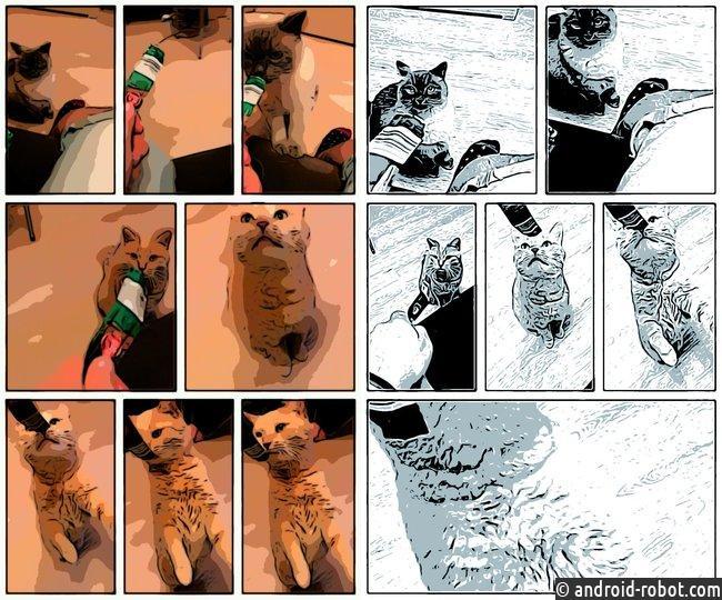 Google выпустил приложения для селфи исоздания комиксов